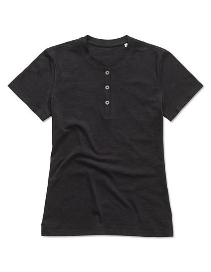 S9530 Stedman® Sharon Henley T-Shirt for women